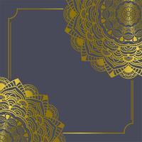 Mandala vintage decorations elements and Frames Vector illustration [Convertito]