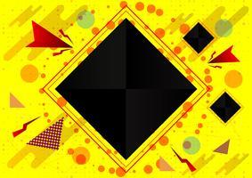 Priorità bassa geometrica astratta, illustrazione eps10 di vettore