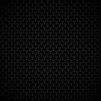 Progettazione geometrica nera di lusso astratta del modello dei quadrati con i punti d'argento su fondo scuro. Consistenza lussuosa superficie metallica di carbonio.
