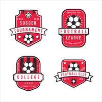 Pack of Modern Football Badge