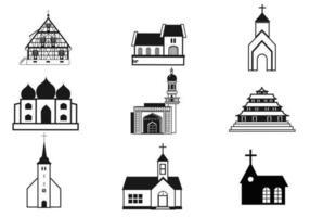 Pacchetto di vettore di chiese