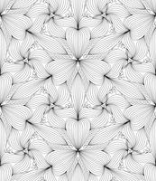 Reticolo geometrico senza giunte astratto, illustrazione vettoriale.