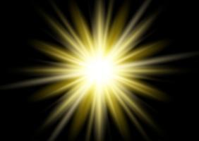 Sfondo oro starburst vettore