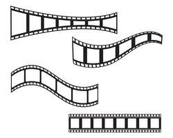 modello dell'illustrazione di vettore dell'icona della striscia del film
