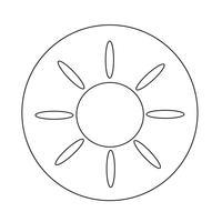 Icona del sole