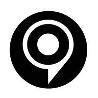 icona della bolla di destinazione