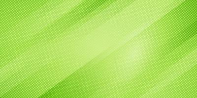 Le linee oblique di colore verde di pendenza della natura astratta barra il fondo e lo stile di semitono di struttura di punti. Trama minimal moderno modello geometrico elegante.