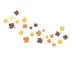 icone di vettore di logo foglia d'autunno