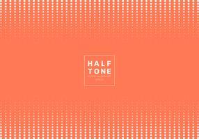 Estratto del fondo arancio di concetto di progetto di semitono del punto di bianco con testo fot dello spazio fot. Intestazione e piè di pagina del layout del sito Web di decorazione e brochure, poster, banner web, carta, ecc.