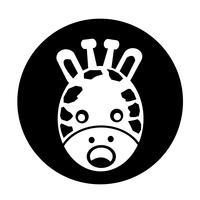 Icona di giraffa