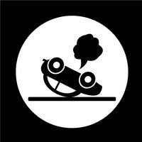 icona di auto incidente d'auto