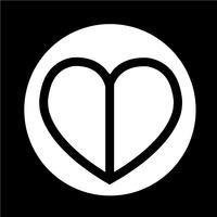 Icona del cuore di amore