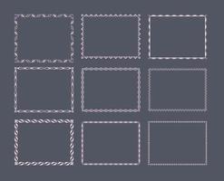 Pacchetto di immagini Funky Frames vettore