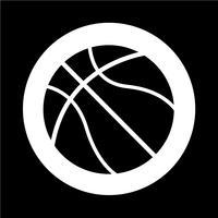 icona di basket vettore