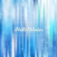Ciao inverno sfocato sullo sfondo. Natale sfocato sfondo sfocato