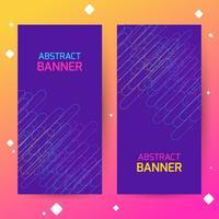 Copertine con motivi geometrici. Sfondi colorati Applicabile per banner, cartelli, manifesti, volantini.