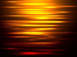 Riflessione astratta dell'acqua del fondo al tramonto. vettore