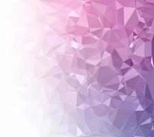 Sfondo viola mosaico poligonale, modelli di design creativo vettore