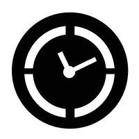 Icona del segno del tempo vettore