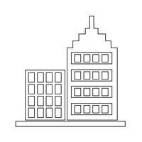 Segno dell'icona di costruzione vettore