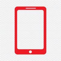 illustrazione vettoriale di smartphone icona