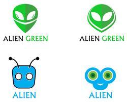 Modello di icona di logo e simboli di vettore di icona faccia straniera app
