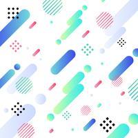 Colore e fondo luminosi di progettazione geometrica diagonale astratta del modello. È possibile utilizzare per il design moderno della copertura, modello, decorato, brochure, flyer, poster, banner web.