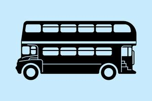 Autobus a due piani di Londra vettore