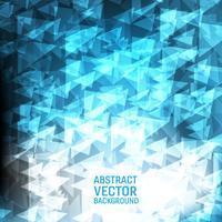 Fondo astratto geometrico di vettore blu-chiaro. Nuovo design di sfondo texture poligonale per il tuo business.