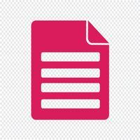 File icona illustrazione vettoriale