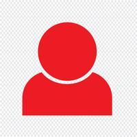 Illustrazione di vettore dell'icona della gente
