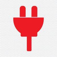 illustrazione vettoriale di plugin icona