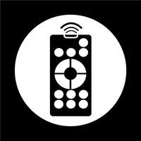 icona di controllo remoto vettore