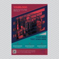 Modello di brochure aziendale professionale