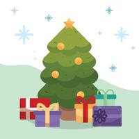 Vettore dell'albero di Natale