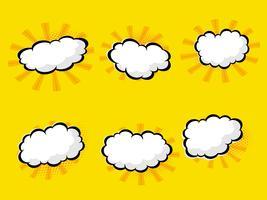 nuvoletta vuota con mezzitoni