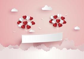 Illustrazione di Love and Valentine Day vettore