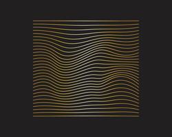 Poster di flusso colorato moderno. Forma liquida dell'onda nella priorità bassa di colore blu. Art design per il tuo progetto di design. Illustrazione vettoriale