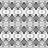 Linee geometriche astratte senza cuciture. vettore