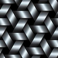 Cestino di metallo su grafica vettoriale. vettore