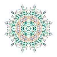 Mandala, mandala di vettore, mandala floreale, mandala del fiore, orienta