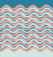 Modello senza cuciture dell'onda astratta. Elegante sfondo geometrico. Wa