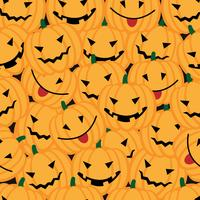 Sfondo di Halloween con zucche