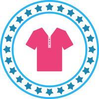Icona della camicia di vettore