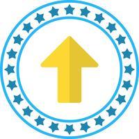 Icona freccia su vettoriale