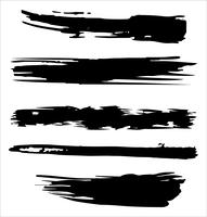 La spazzola segna l'illustrazione disegnata a mano di vettore - vettore