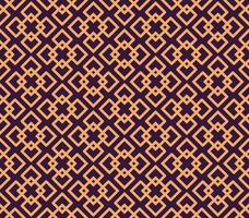 Motivo geometrico di lusso. Vector seamless. Lineare moderno