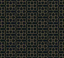 Modello senza cuciture con ornamento di linea. Astratto geometrico moderno v