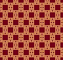 Ornamento vettoriale senza soluzione di continuità. Elegante e lineare stile geometrico moderno