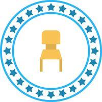 Icona della sedia vettoriale